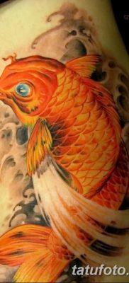 фото тату карась от 28.10.2017 №083 – carp tattoo – tatufoto.com