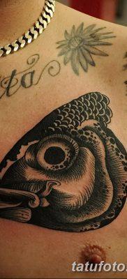 фото тату карась от 28.10.2017 №085 – carp tattoo – tatufoto.com
