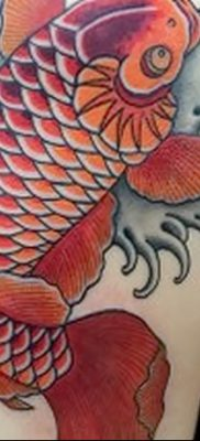 фото тату карась от 28.10.2017 №086 – carp tattoo – tatufoto.com