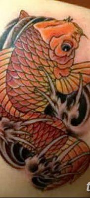 фото тату карась от 28.10.2017 №088 – carp tattoo – tatufoto.com