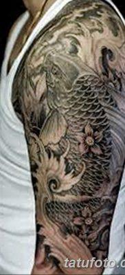 фото тату карась от 28.10.2017 №090 – carp tattoo – tatufoto.com