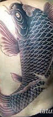 фото тату карась от 28.10.2017 №091 – carp tattoo – tatufoto.com