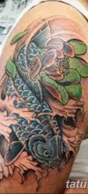 фото тату карась от 28.10.2017 №092 – carp tattoo – tatufoto.com