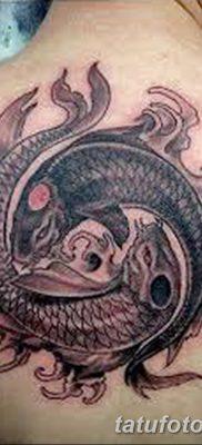 фото тату карась от 28.10.2017 №094 – carp tattoo – tatufoto.com