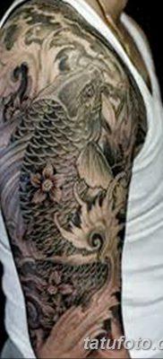 фото тату карась от 28.10.2017 №096 – carp tattoo – tatufoto.com