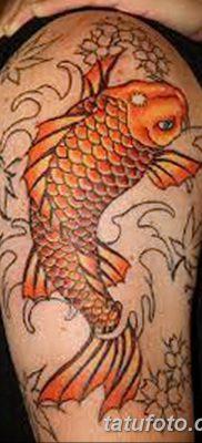 фото тату карась от 28.10.2017 №097 – carp tattoo – tatufoto.com