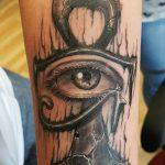 фото тату креста Анкх от 27.10.2017 №025 - Ankh tattoo - tatufoto.com