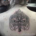 фото тату креста Анкх от 27.10.2017 №029 - Ankh tattoo - tatufoto.com