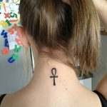 фото тату креста Анкх от 27.10.2017 №046 - Ankh tattoo - tatufoto.com