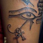 фото тату креста Анкх от 27.10.2017 №047 - Ankh tattoo - tatufoto.com