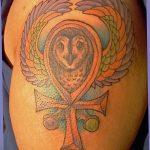 фото тату креста Анкх от 27.10.2017 №070 - Ankh tattoo - tatufoto.com
