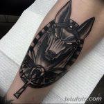 фото тату креста Анкх от 27.10.2017 №109 - Ankh tattoo - tatufoto.com