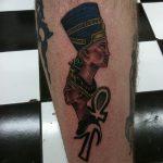 фото тату креста Анкх от 27.10.2017 №119 - Ankh tattoo - tatufoto.com