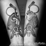 фото тату креста Анкх от 27.10.2017 №131 - Ankh tattoo - tatufoto.com