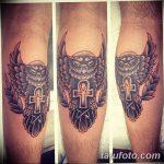 фото тату креста Анкх от 27.10.2017 №146 - Ankh tattoo - tatufoto.com