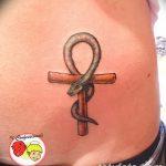 фото тату креста Анкх от 27.10.2017 №159 - Ankh tattoo - tatufoto.com