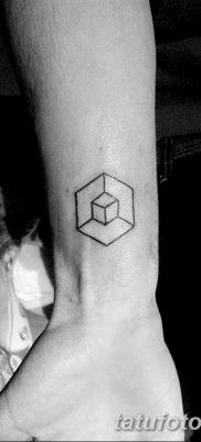 фото тату кубики от 28.10.2017 №002 – tattoos cubes – tatufoto.com