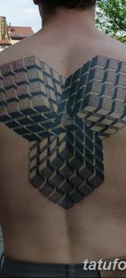 фото тату кубики от 28.10.2017 №009 – tattoos cubes – tatufoto.com