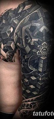 фото тату кубики от 28.10.2017 №010 – tattoos cubes – tatufoto.com