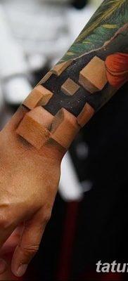 фото тату кубики от 28.10.2017 №011 – tattoos cubes – tatufoto.com