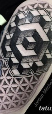 фото тату кубики от 28.10.2017 №012 – tattoos cubes – tatufoto.com