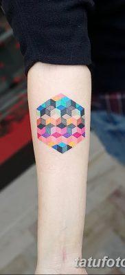 фото тату кубики от 28.10.2017 №017 – tattoos cubes – tatufoto.com