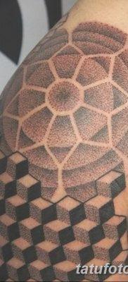 фото тату кубики от 28.10.2017 №018 – tattoos cubes – tatufoto.com