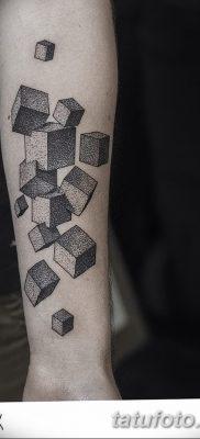 фото тату кубики от 28.10.2017 №019 – tattoos cubes – tatufoto.com
