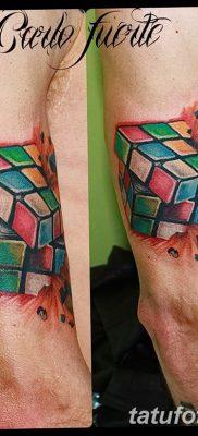 фото тату кубики от 28.10.2017 №020 – tattoos cubes – tatufoto.com