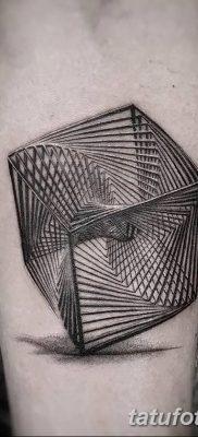 фото тату кубики от 28.10.2017 №021 – tattoos cubes – tatufoto.com