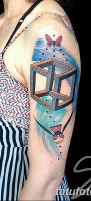 фото тату кубики от 28.10.2017 №032 – tattoos cubes – tatufoto.com