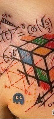 фото тату кубики от 28.10.2017 №033 – tattoos cubes – tatufoto.com