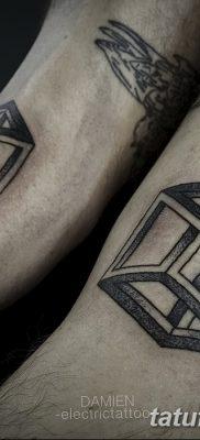 фото тату кубики от 28.10.2017 №034 – tattoos cubes – tatufoto.com