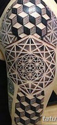 фото тату кубики от 28.10.2017 №038 – tattoos cubes – tatufoto.com