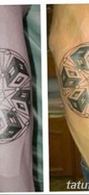 фото тату кубики от 28.10.2017 №041 – tattoos cubes – tatufoto.com