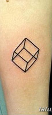 фото тату кубики от 28.10.2017 №048 – tattoos cubes – tatufoto.com