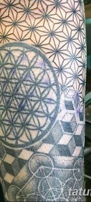 фото тату кубики от 28.10.2017 №058 – tattoos cubes – tatufoto.com