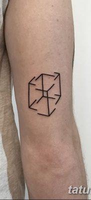 фото тату кубики от 28.10.2017 №059 – tattoos cubes – tatufoto.com