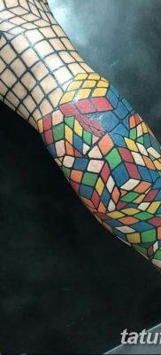 фото тату кубики от 28.10.2017 №061 – tattoos cubes – tatufoto.com