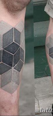 фото тату кубики от 28.10.2017 №070 – tattoos cubes – tatufoto.com