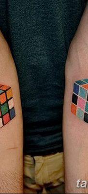 фото тату кубики от 28.10.2017 №073 – tattoos cubes – tatufoto.com