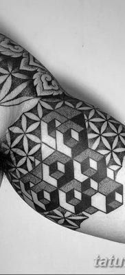 фото тату кубики от 28.10.2017 №081 – tattoos cubes – tatufoto.com