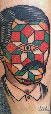 фото тату кубики от 28.10.2017 №082 – tattoos cubes – tatufoto.com