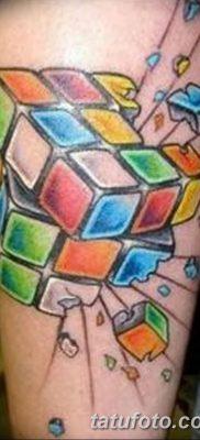 фото тату кубики от 28.10.2017 №083 – tattoos cubes – tatufoto.com