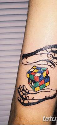 фото тату кубики от 28.10.2017 №084 – tattoos cubes – tatufoto.com