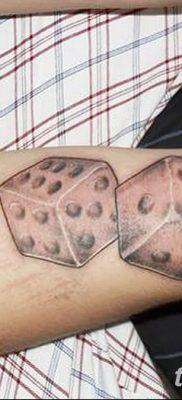 фото тату кубики от 28.10.2017 №086 – tattoos cubes – tatufoto.com