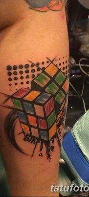 фото тату кубики от 28.10.2017 №089 – tattoos cubes – tatufoto.com