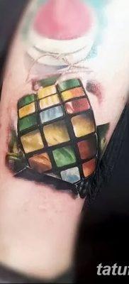 фото тату кубики от 28.10.2017 №090 – tattoos cubes – tatufoto.com