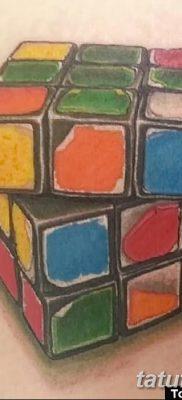 фото тату кубики от 28.10.2017 №091 – tattoos cubes – tatufoto.com