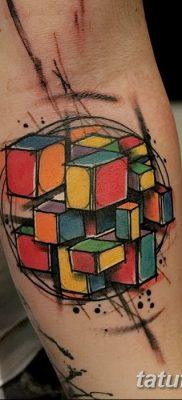 фото тату кубики от 28.10.2017 №098 – tattoos cubes – tatufoto.com